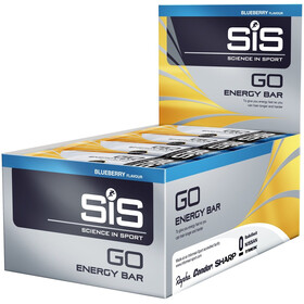SiS GO Energy Bar Caja 30x40g, Blueberry